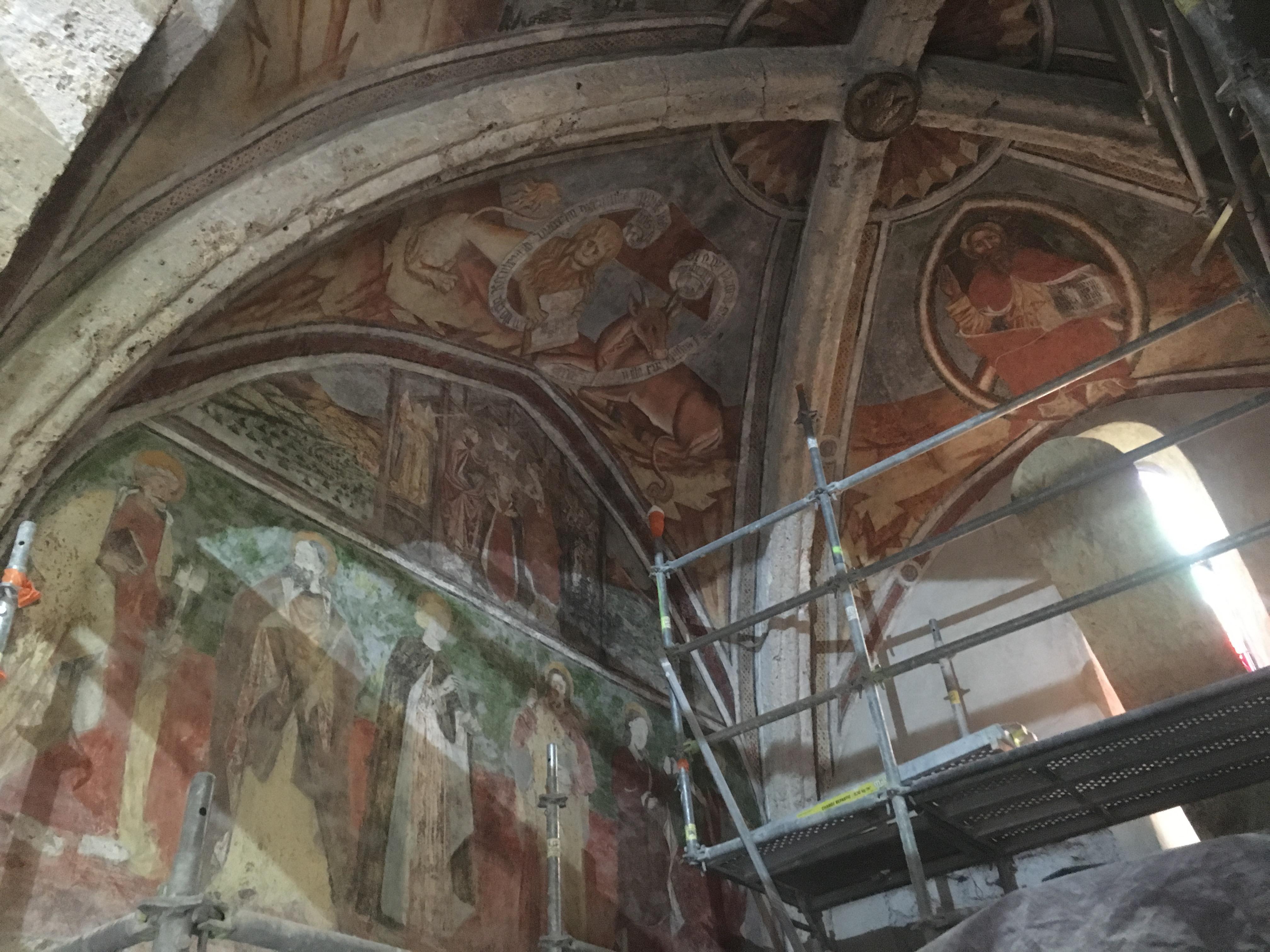 Peintures murales du choeur église 05