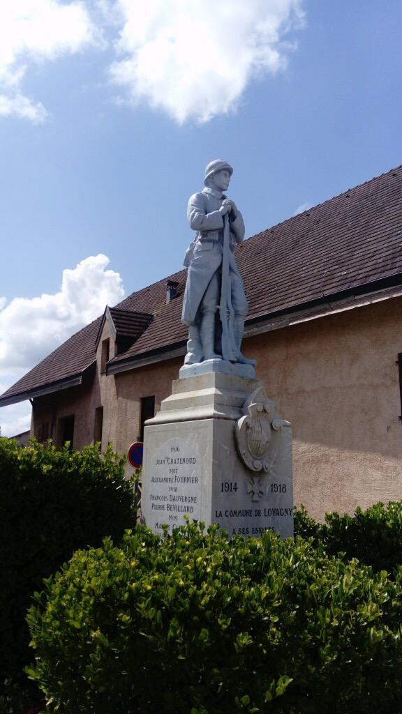 Poilu de Lovagny (74) AVANT restauration - couleur unie blanc bleuté (glycéro)