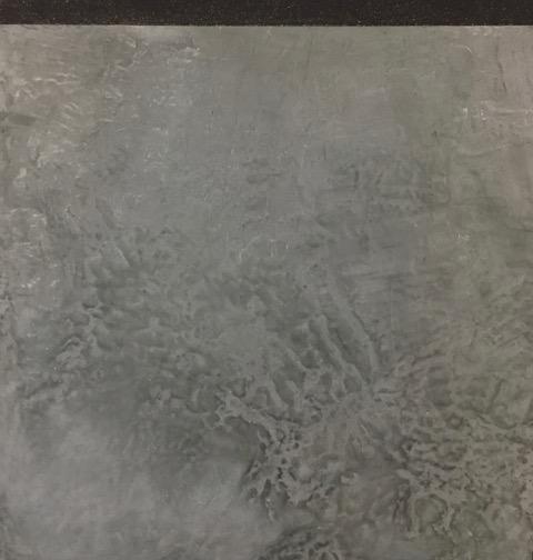 Enduit de béton ciré gris