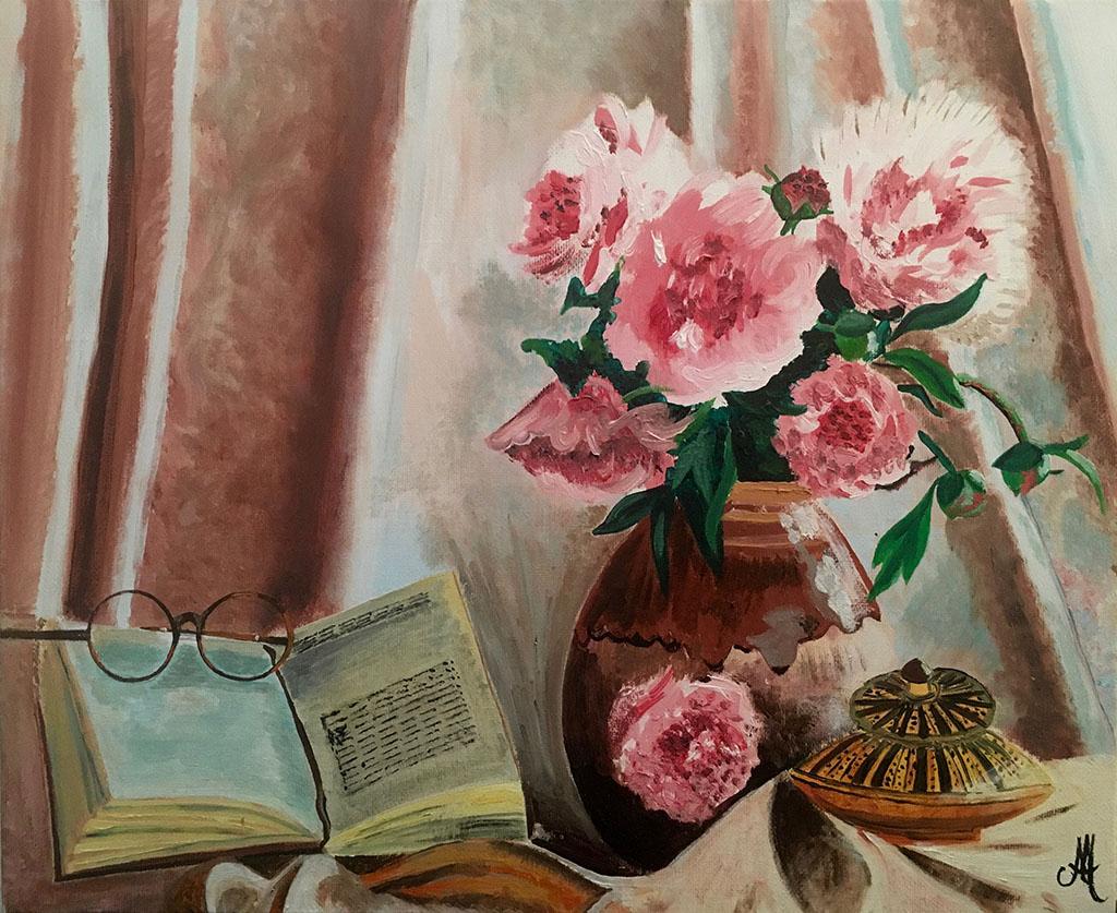 Nature Morte Bouquet (huile)