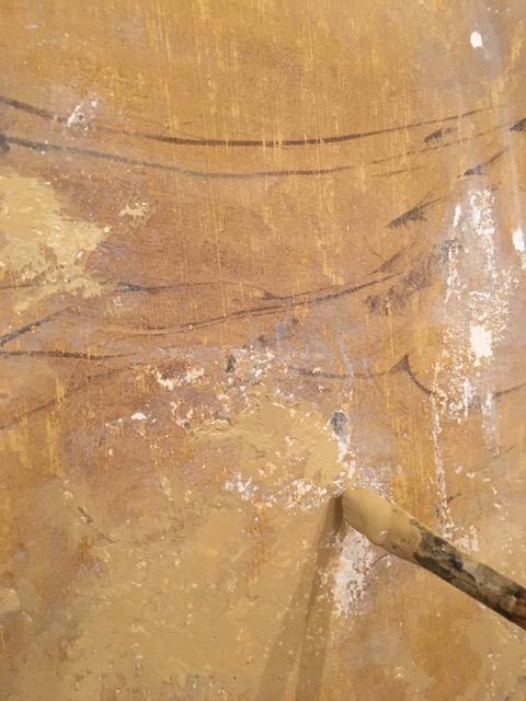 Restitution d'un faux marbre XIXème