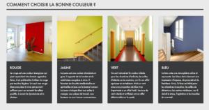 Comment choisir une couleur en décoration selon KEIM