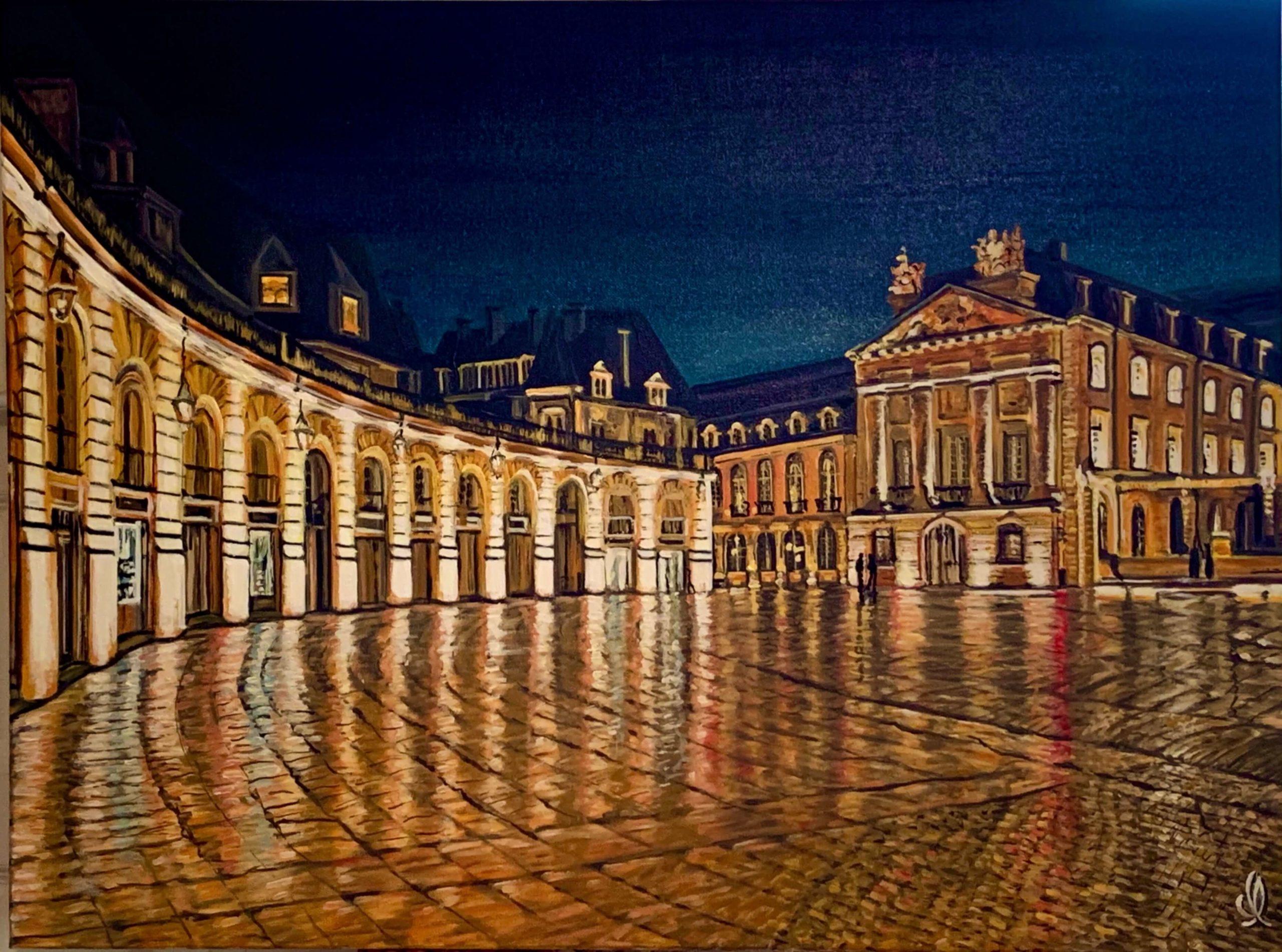 Place de la Liberation Dijon-Medium mixte